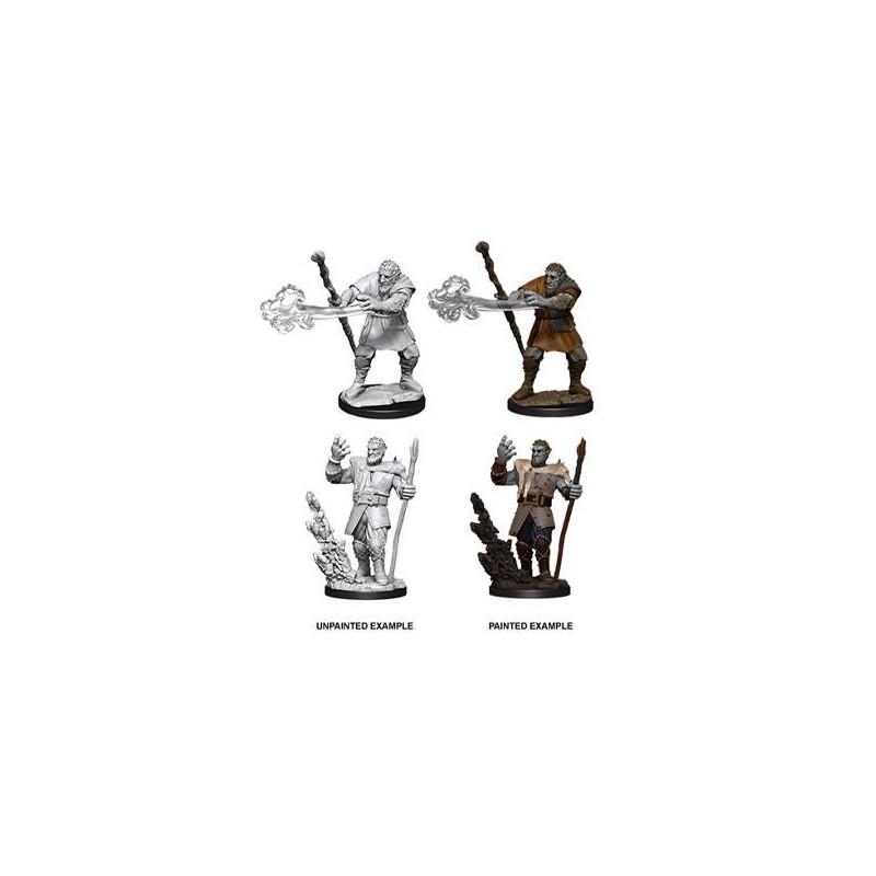 D&D Nolzur's Marvelous Assortiment Miniatures à peindre Male Firbolg Druid