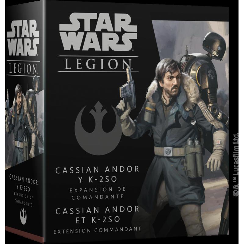 Star Wars Légion: Cassian Andor et K-2SO - EN