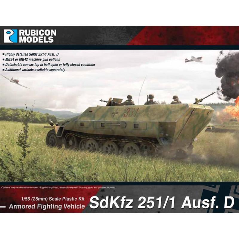 280018 - SdKfz 251/1 Ausf D (aka 251D)