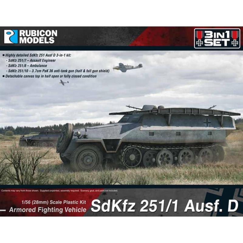 280019 - SdKfz 251D 3-in-1 Set 1