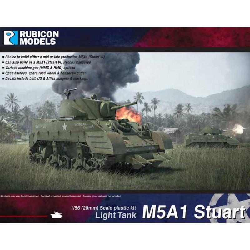 280023 - M5A1 Stuart / M5A1 Recce