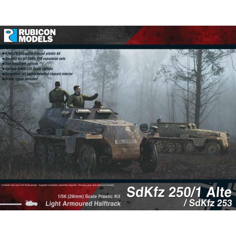 280032 - SdKfz 250/1 Alte / SdKfz 253 (aka 250A)