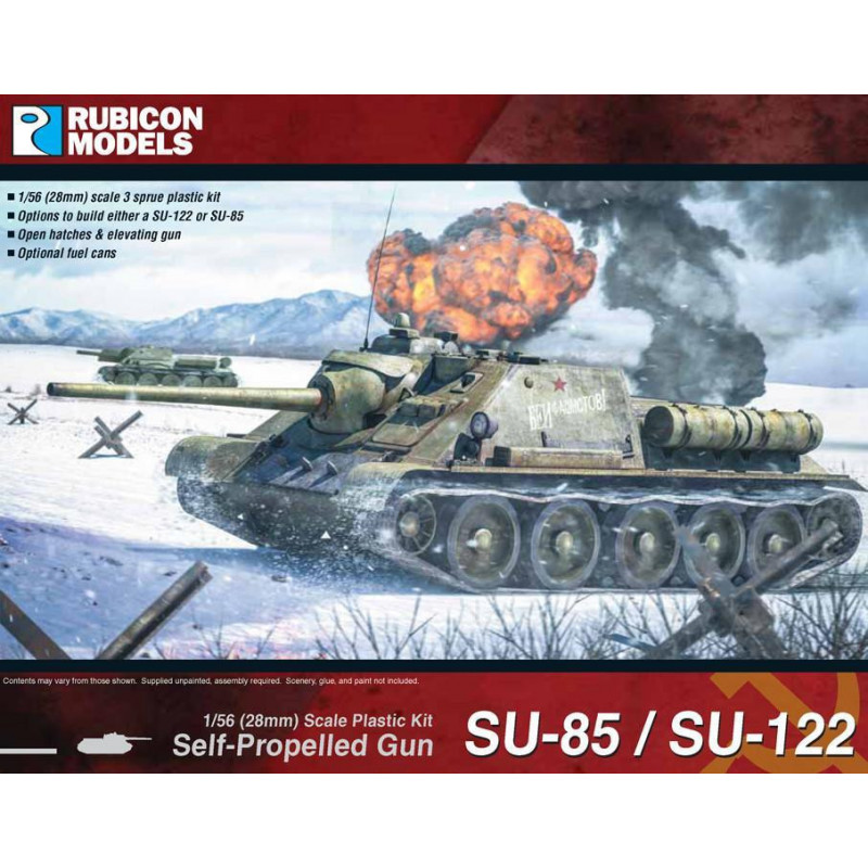 280034 - SU-85 / SU-122 SPG