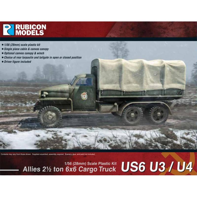 280035 - Allies US6 U3/U4 2½ ton 6x6 Truck
