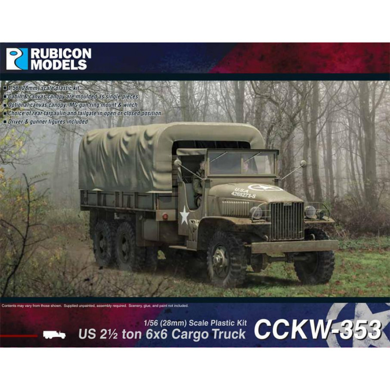 280037 - US CCKW 353 2½ ton 6x6 Truck (GMC)