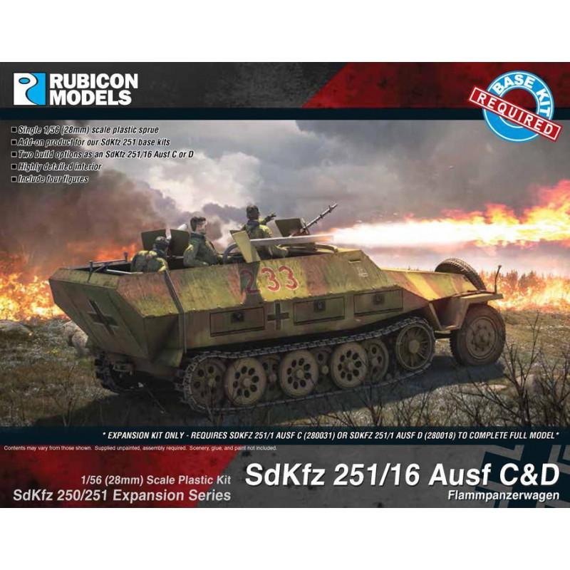 280040 - SdKfz 251/16 Ausf C/D Expansion Set