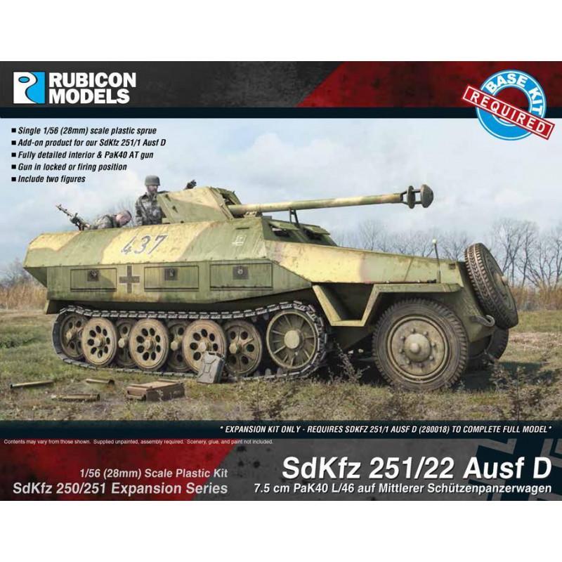 280041 - SdKfz 251/22 Ausf D Expansion Set