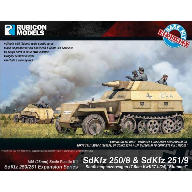 280044 - SdKfz 250/251 Expansion Set- SdKfz 250/8 & 251/9 Stummel