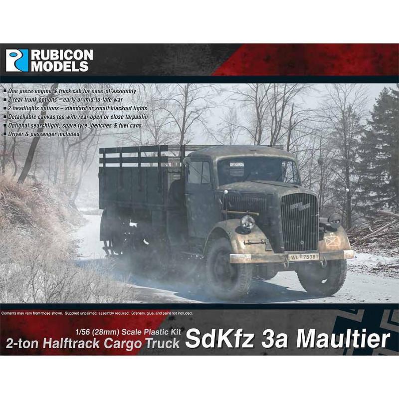 280046 - SdKfz 3a Maultier 2 ton Half-Track Cargo Truck
