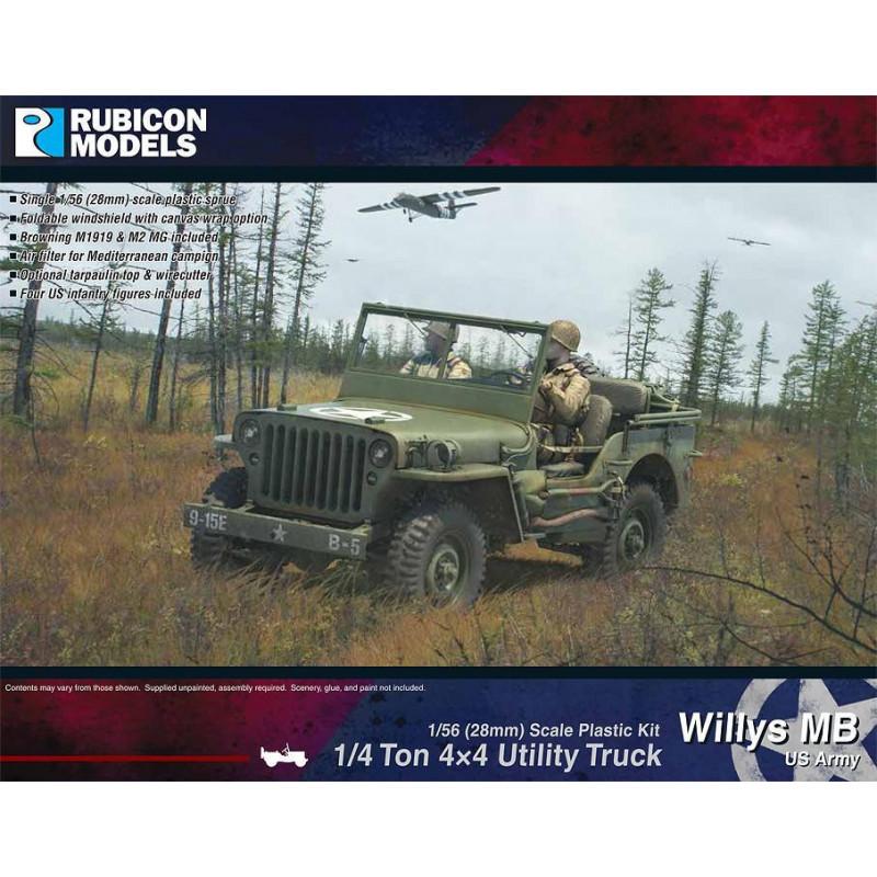 280049 - Willys MB ¼ ton 4x4 Truck (US Standard)