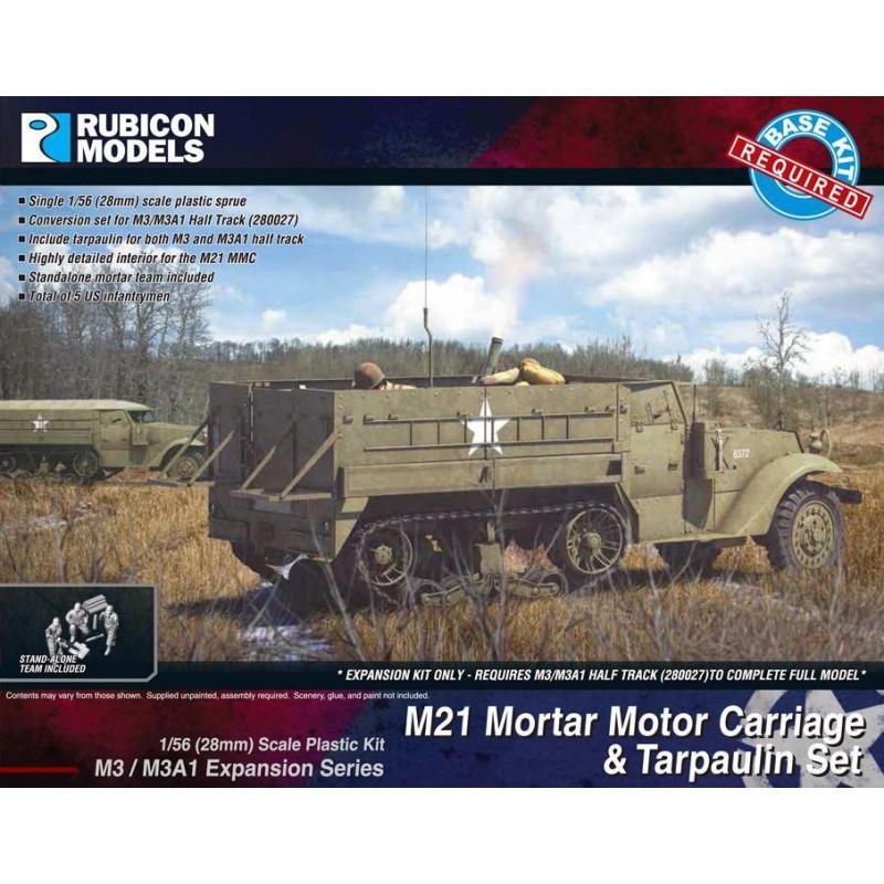 280053 - M3/M3A1 Expansion - M21 MMC & Tarpaulin Set