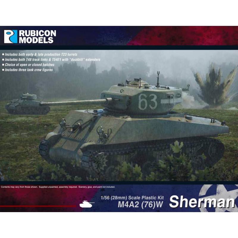 280054 - M4A2(76)W Sherman