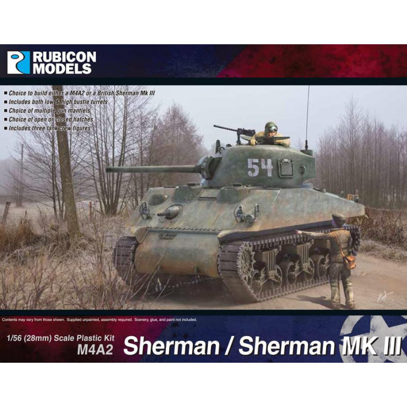280055 - M4A2 Sherman / Sherman III