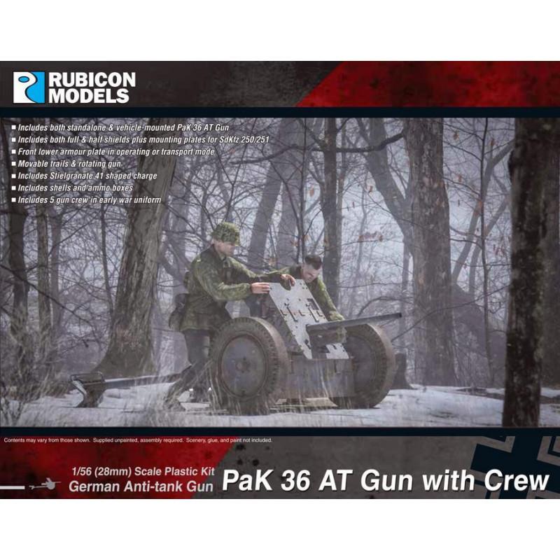 280057 - PaK 36 AT Gun with Crew