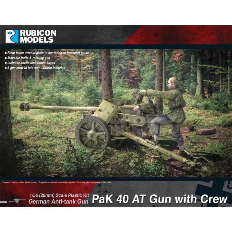 280059 - Pak 40 AT Gun with Crew