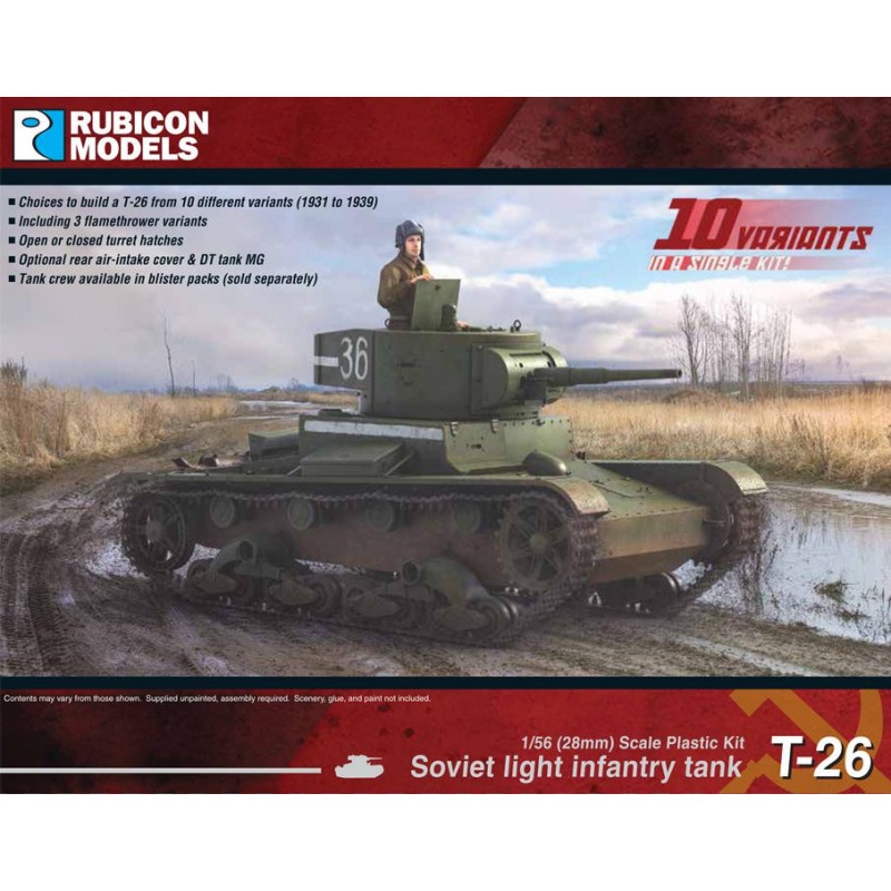 280070 - Soviet T-26 Light Infantry Tank
