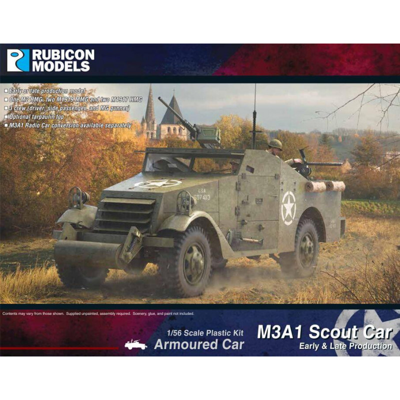 280083 - M3A1 Scout Car (Early & Late production)