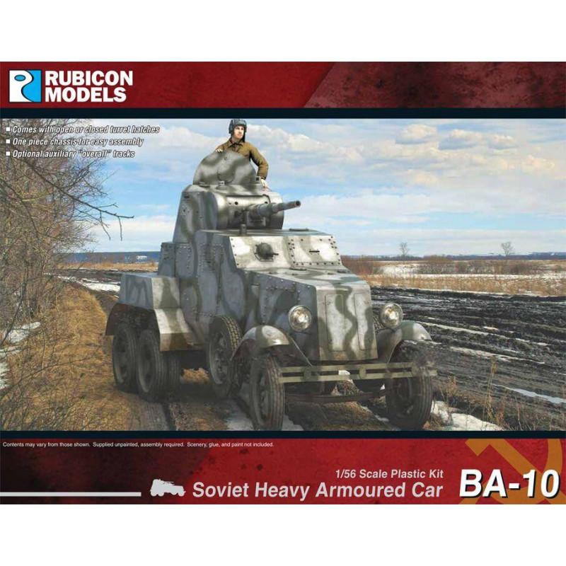 280085 - BA-10 Heavy Armoured Car