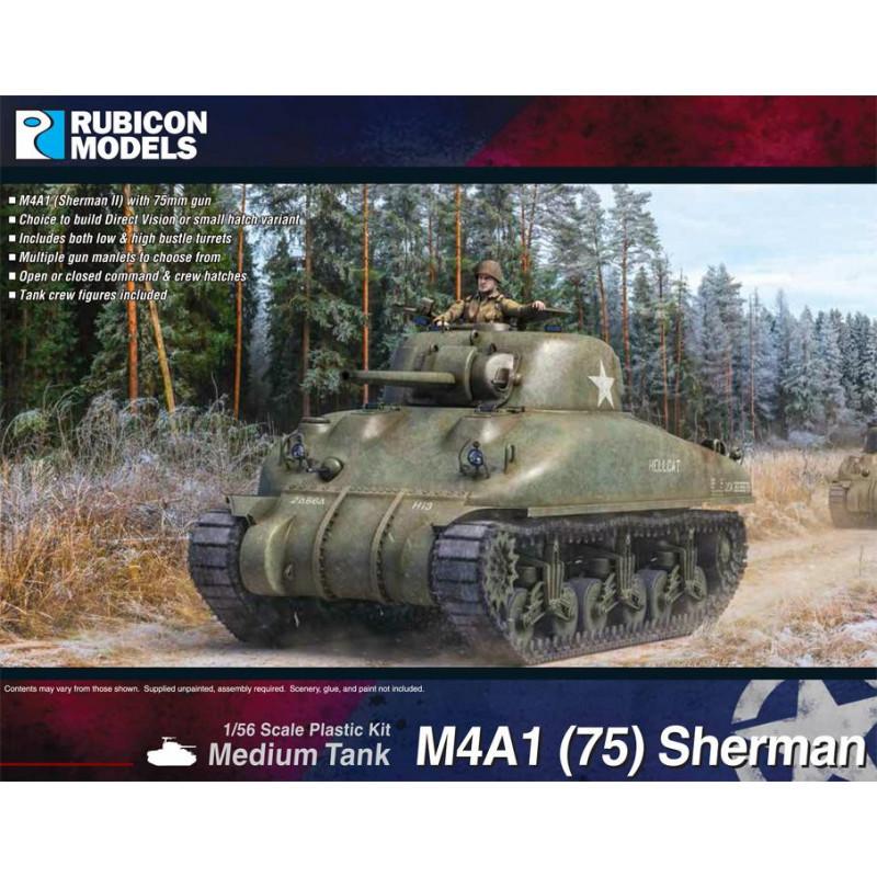 280086 - M4A1(75) Sherman - DV & SH