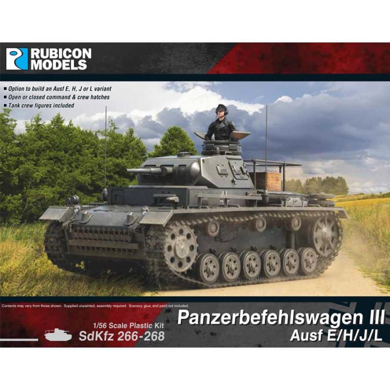 280093 - Panzerbefehlswagen III Ausf E/H/J/L