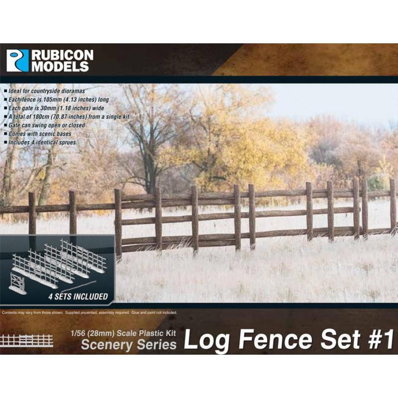 283001 - Log Fence Set 1