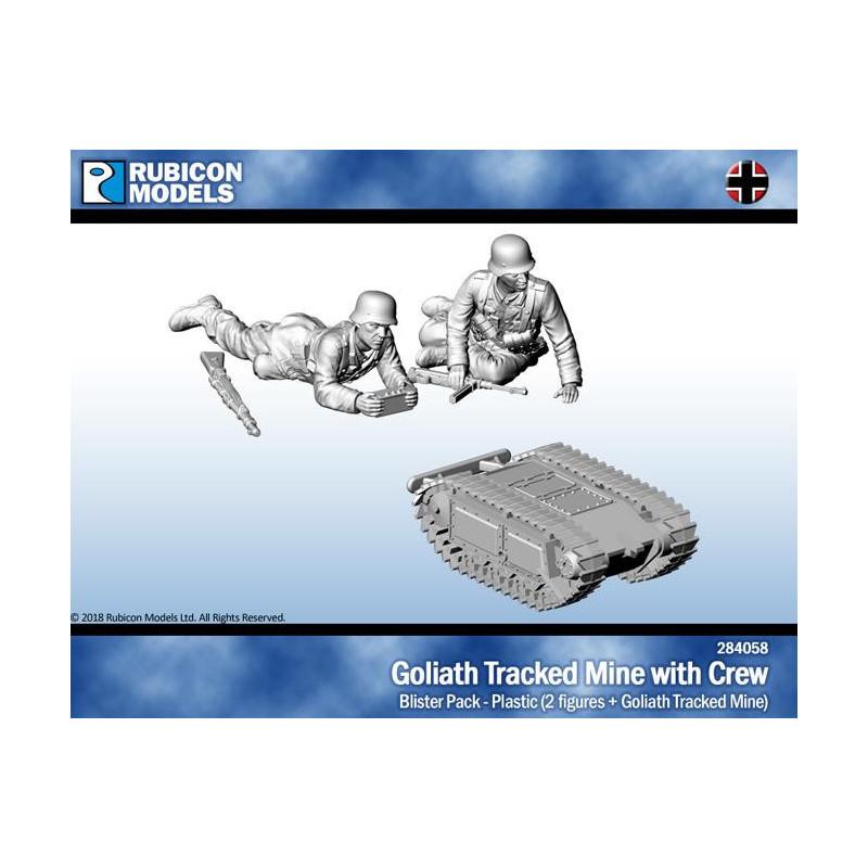 284058 - Goliath Tracked Mine with Crew