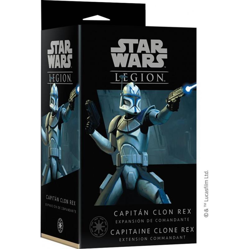 Star Wars Légion : Capitaine Clone Rex - EN