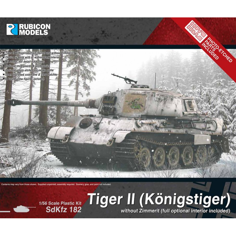 280099 - King Tiger without Zimmerit