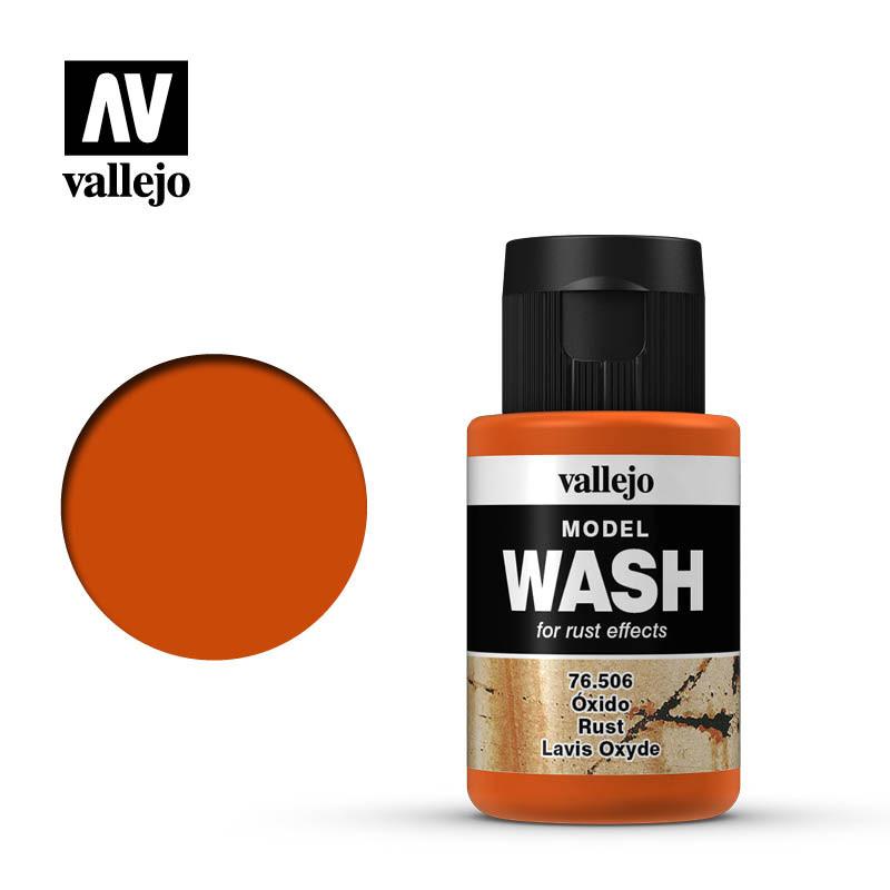 wash rust