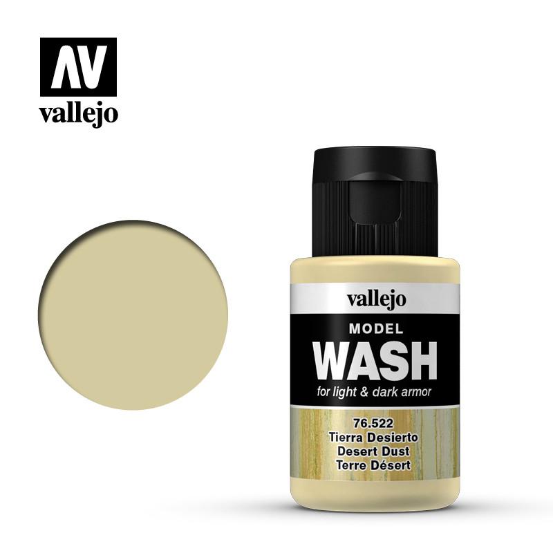 wash desert dust