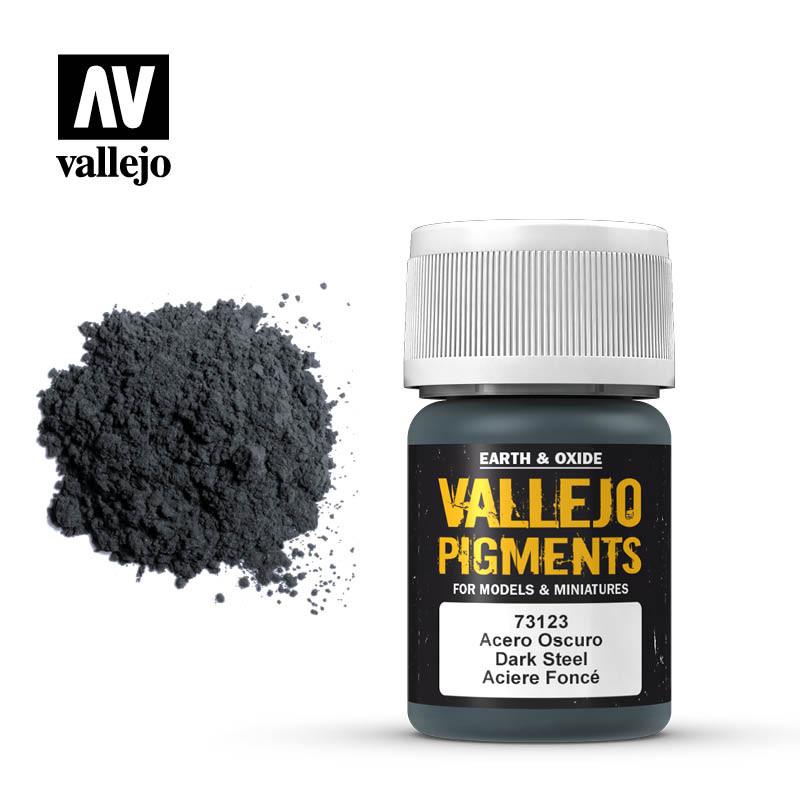 dark steel pigment