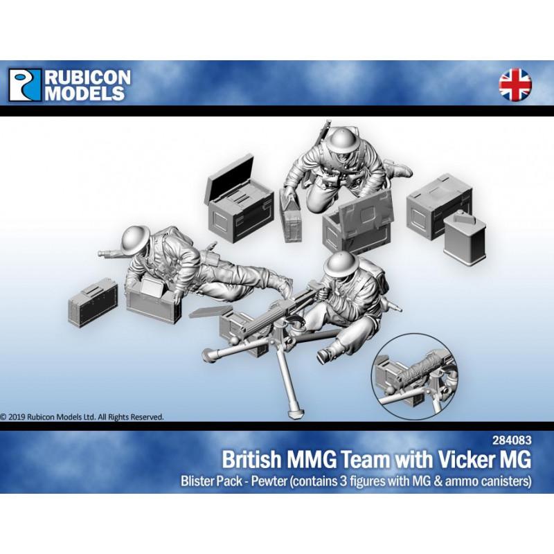 284083 - British Vickers Machine Gun Team