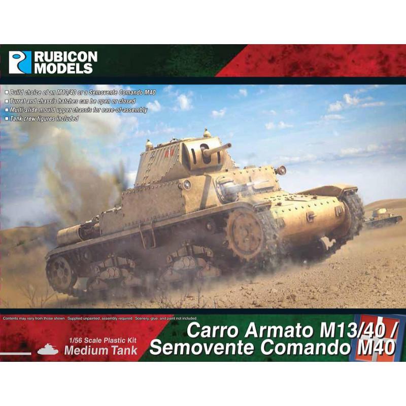 280095 - Carro Armato M13/40 / Semovente Comando M40