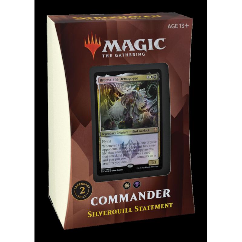 DECK PROCLAMATION DE PLUMARGENT COMMANDER 2021 - MAGIC FR