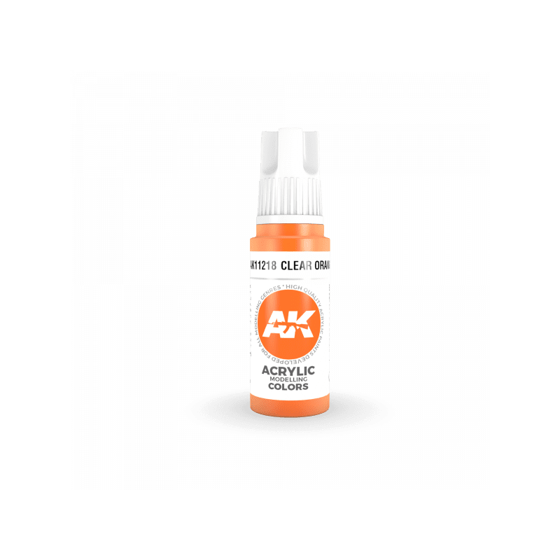 AK 3Gen Clear Orange 17ml