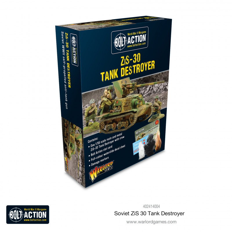 Soviet ZIS-30 Tank Destroyer