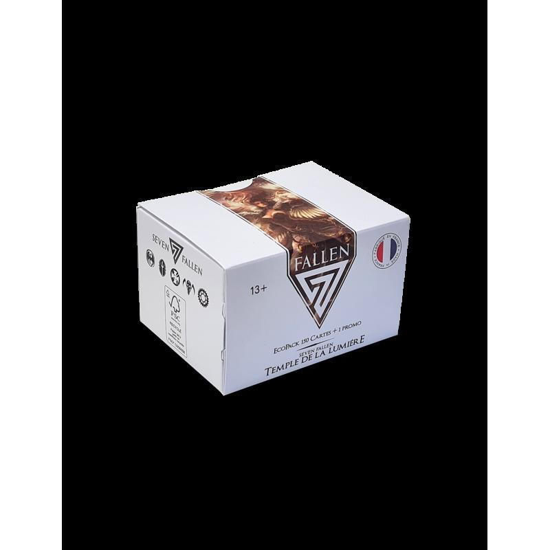 PACK ÉCOLOGIQUE DE 150 CARTES (10 BOOSTERS) + 1 CARTE SPÉCIALE - TEMPLE DE LA LUMIÈRE