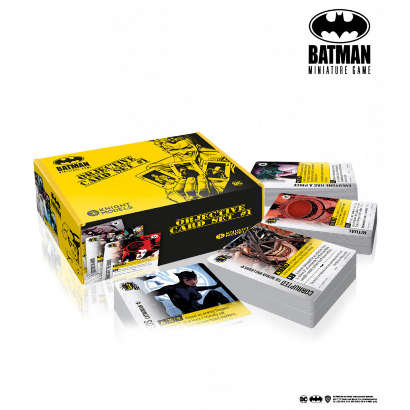 Batman Miniature Game: Objective Card Set 1