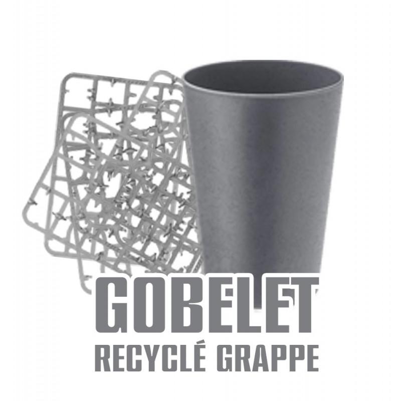 Gobelet grappe plastique recyclé