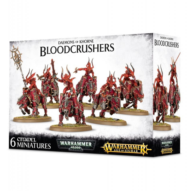Daemons Of Khorne Bloodcrushers