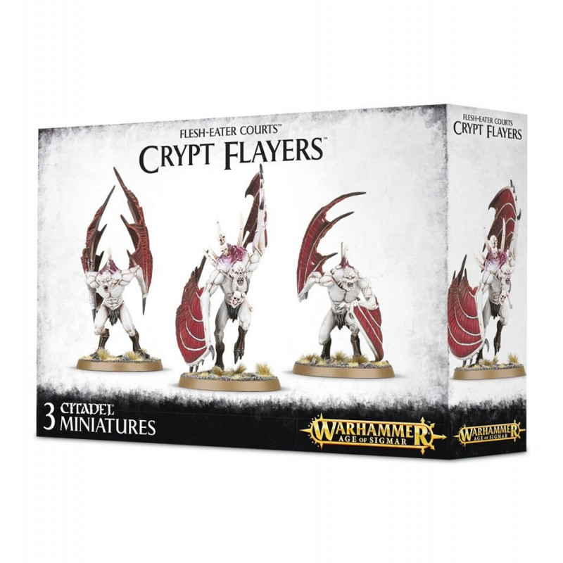 Crypt Horrors / Vargheists / Crypt Flayer / Crypt Haunter Courtier