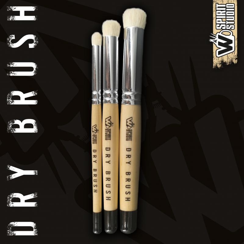 Dry Brush Set WSpirit Studio- Set de pinceaux de brossage