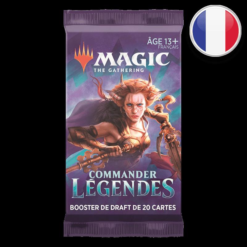 BOOSTER COMMANDER LÉGENDES - MAGIC FR