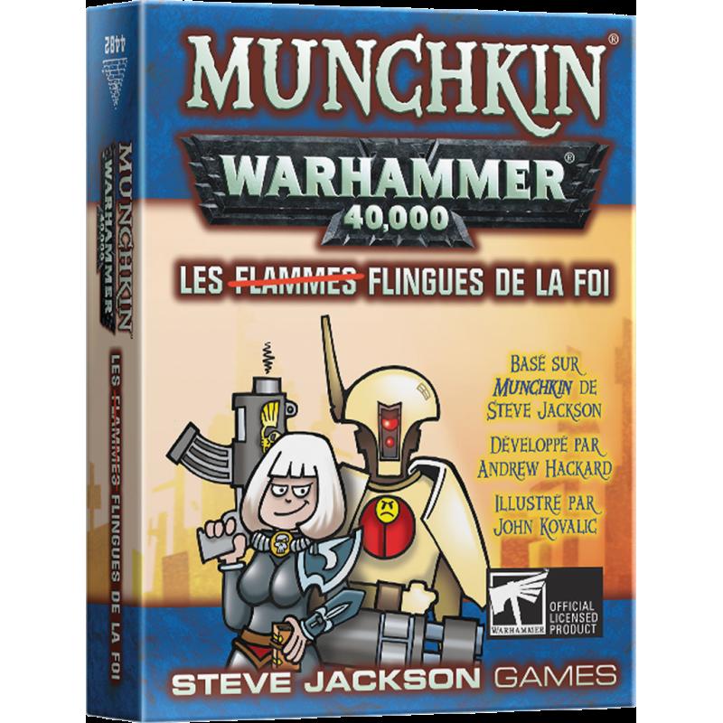 MUNCHKIN WARHAMMER 40K : FLINGUES DE LA FOI (EXT)