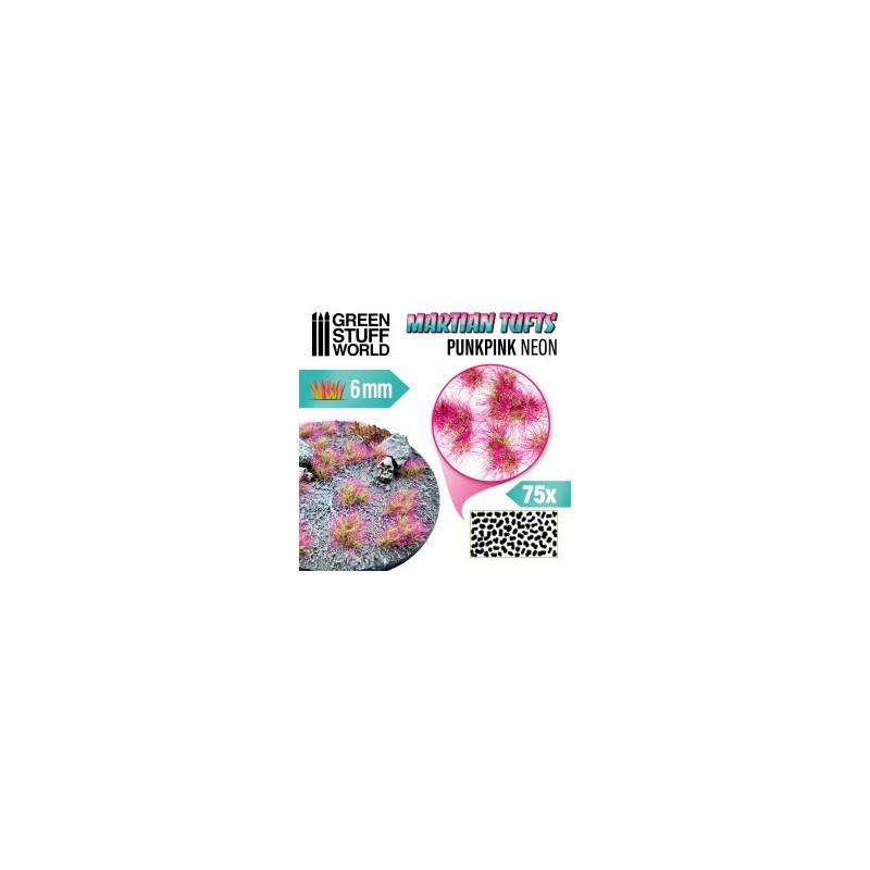 Touffes d'herbe martienne - PUNK PINK NEON