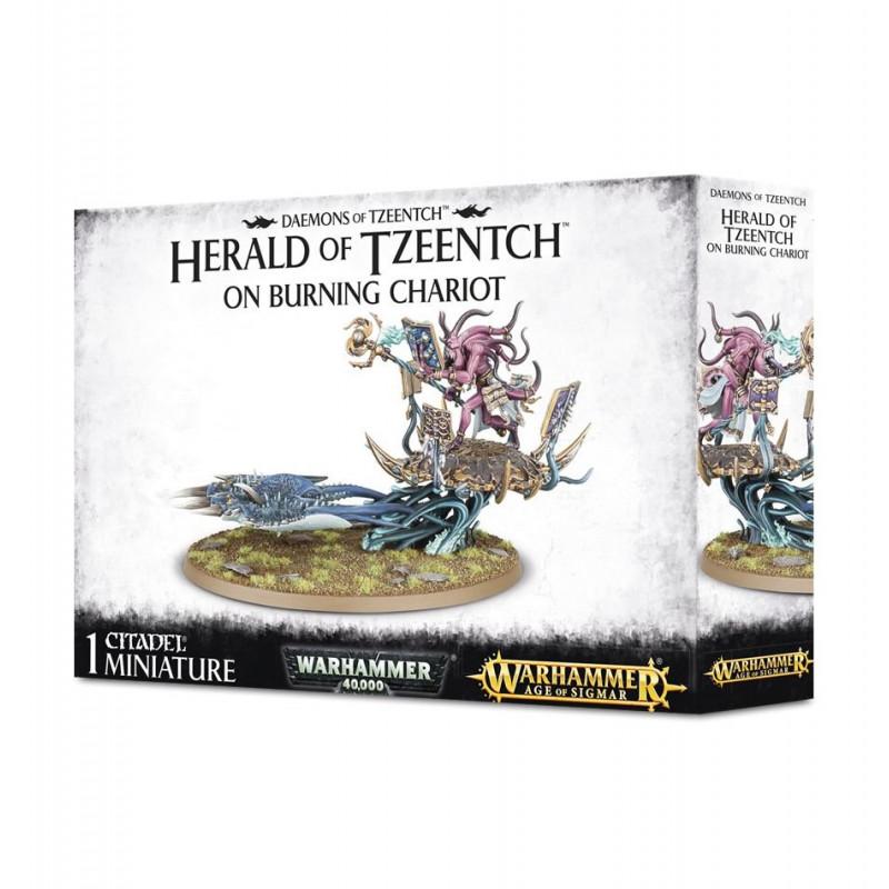 Burning Chariot of Tzeentch / Exalted Flamer of Tzeentch / Herald of Tzeentch