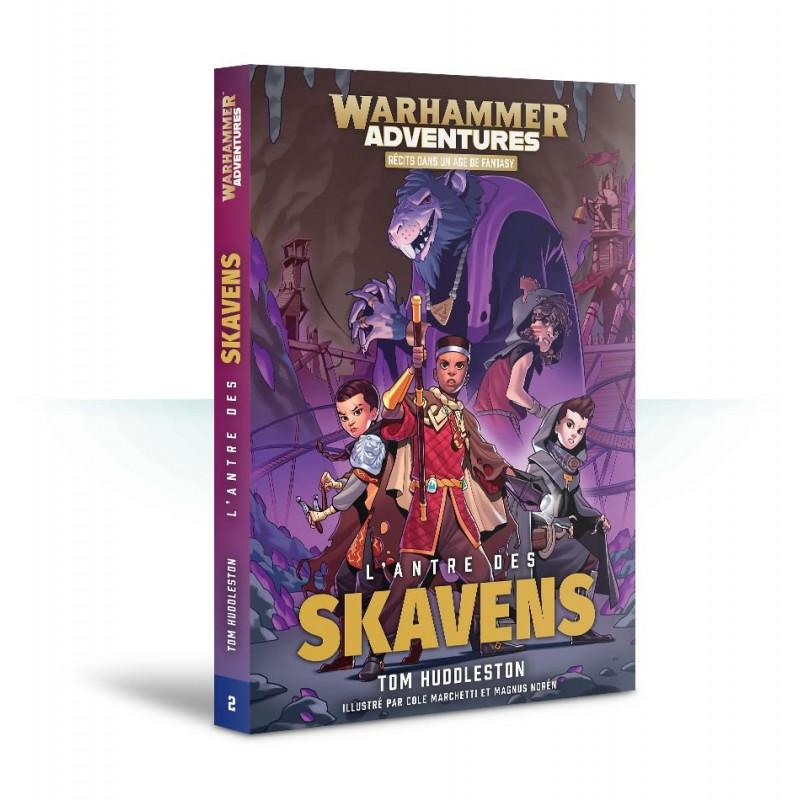 Les 8 Royaumes Mortels livre 2: L'Antre du Skaven (FR)