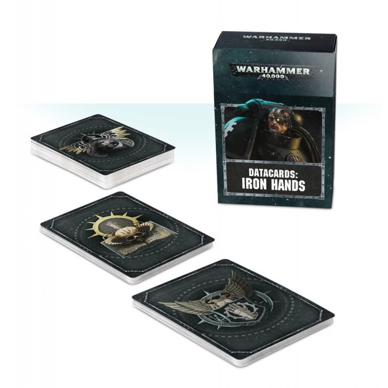 Datacards: Iron Hands (Anglais)