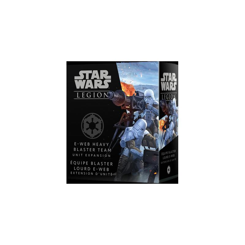 Star Wars Légion : Équipe Blaster Lourd E-Web