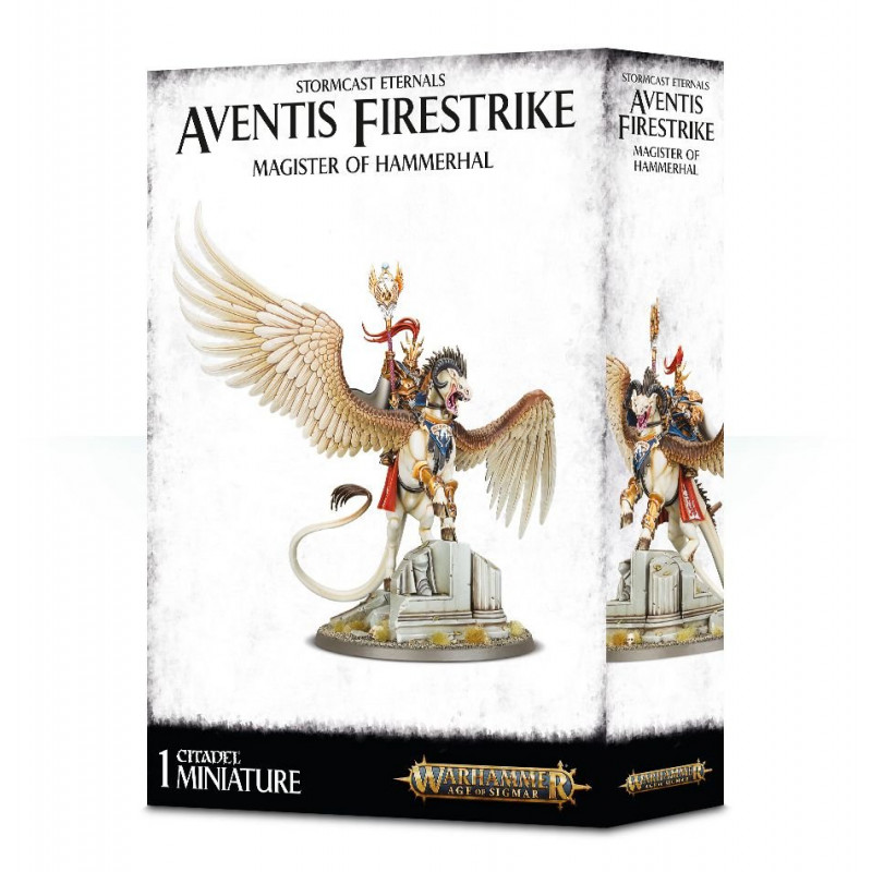 Aventis Firestrike: Magister of Hammerhal / Lord Arcanum sur Tauralon